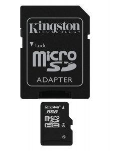 Kingston SDC4/8GB Memoria MicroSDHC